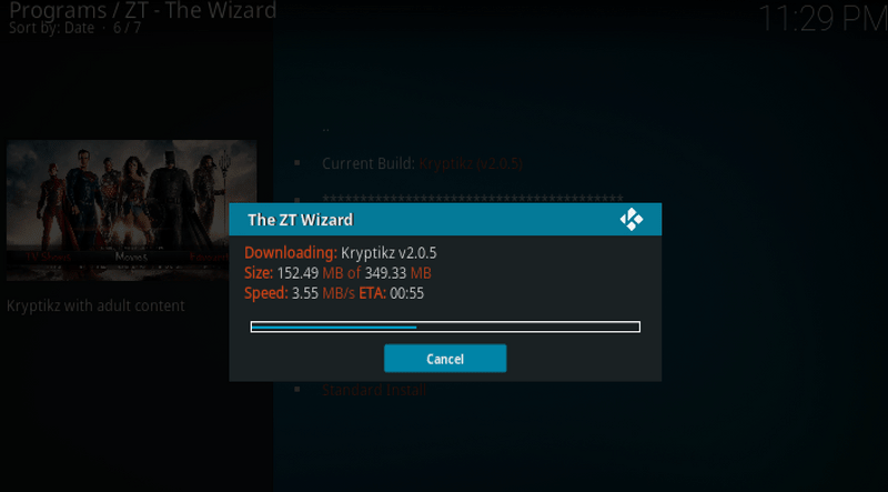 download Kryptikz ZT Kodi Build