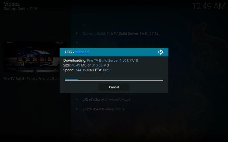 download fire tv guru build