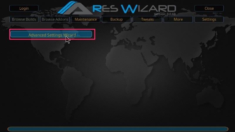 kodi advanced settings