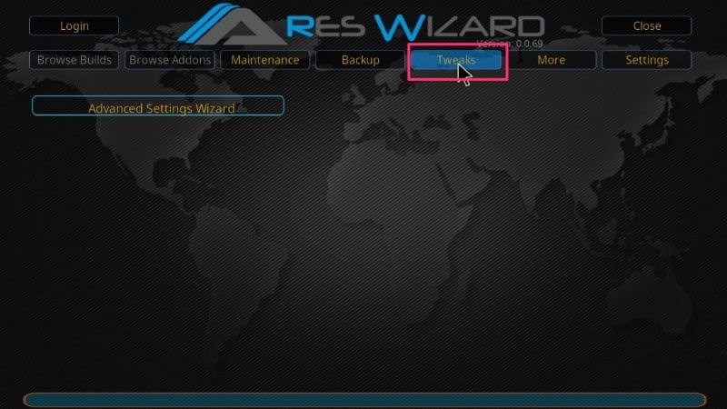 kodi buffer advanced settings ares wizard