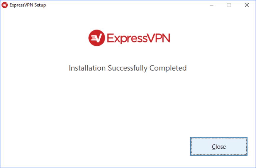 expressvpn installed