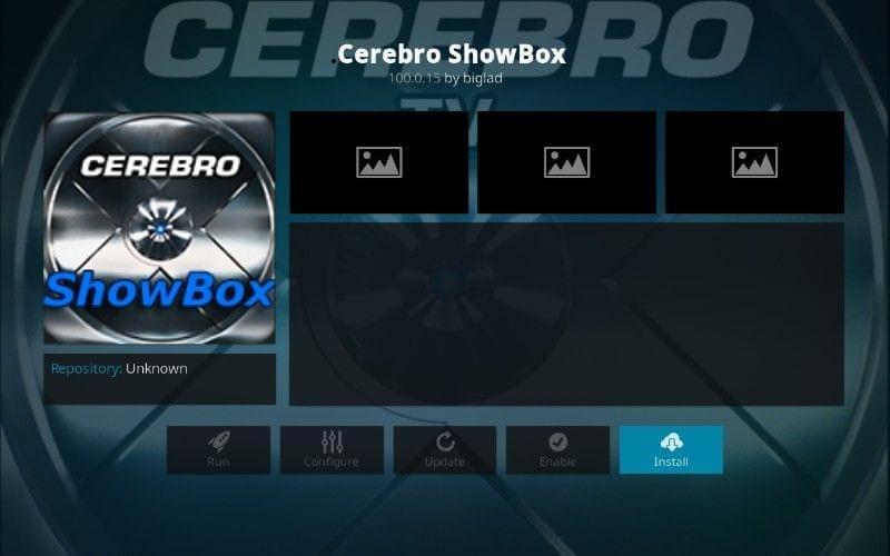 how to install cerebro showbox kodi addon