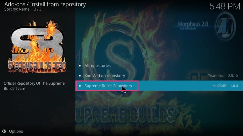 How to Install Supreme Builds Wizard on Kodi (2019)