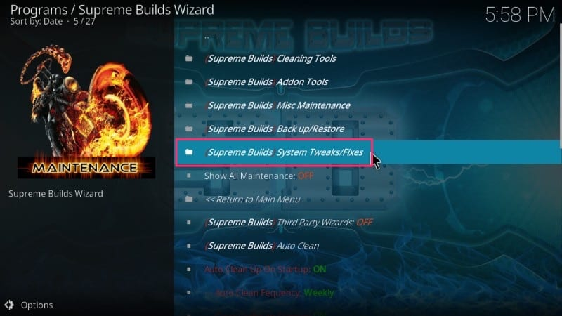 fix kodi buffering issues