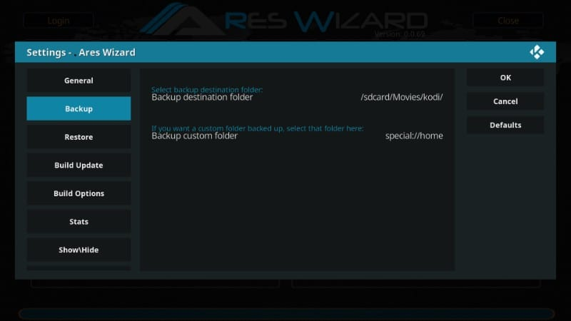 how to reset Kodi to factory settings