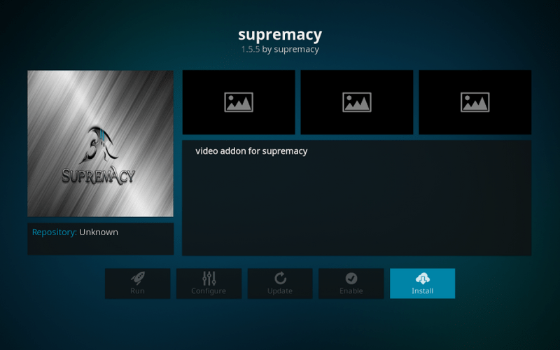 how to install supremacy on kodi