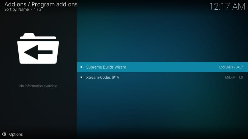 Titanium for kodi