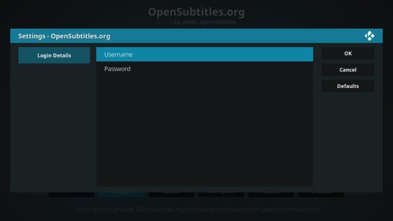 opensubtitles kodi