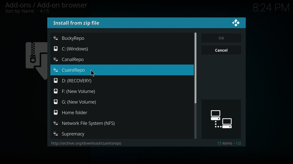 install csaint repository
