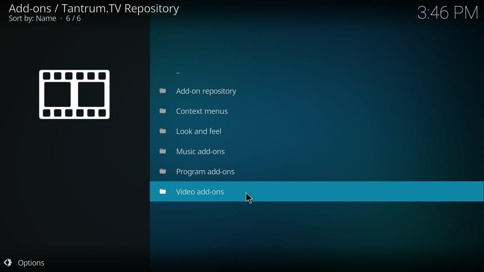 tantrum tv video add-ons