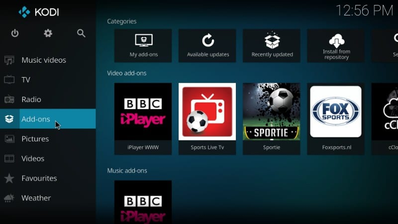 kodi addons for football world cup live streams