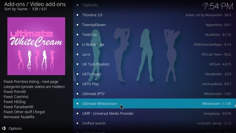 Can i watch porn on kodi