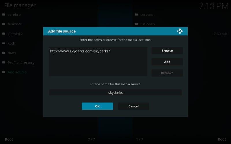 how to install Chronos kodi addon