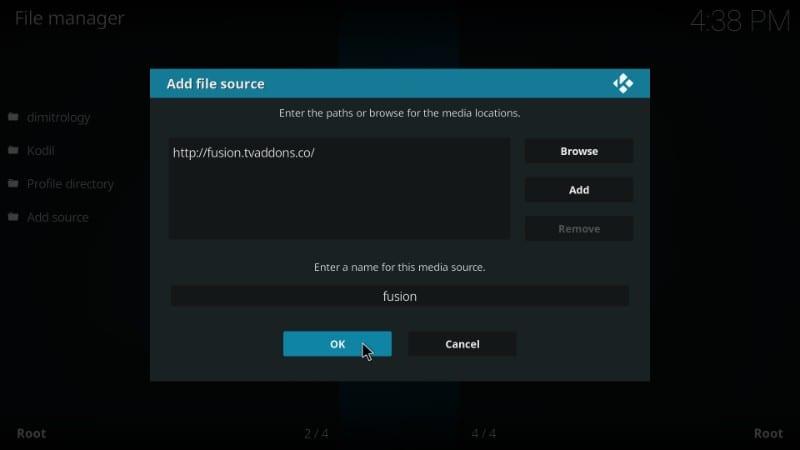 ccloud tv kodi failed to install dependency
