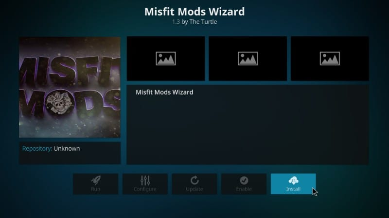 how to install misfit mods wizard