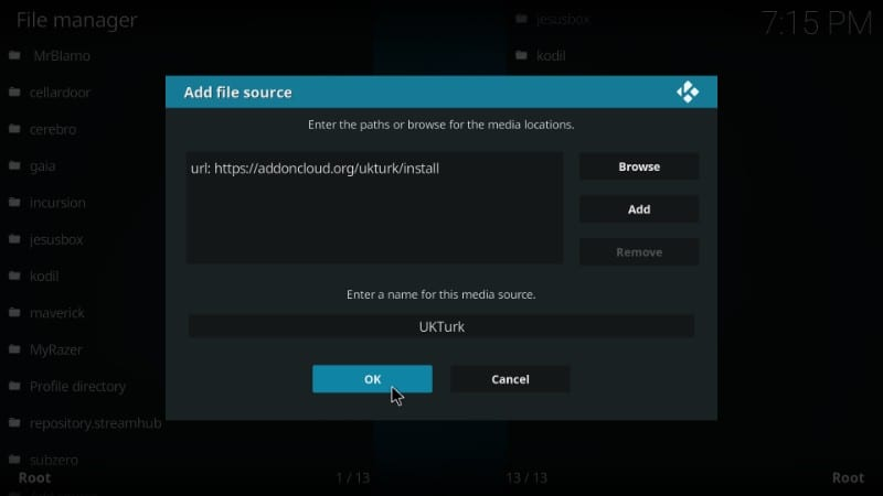 uk turk kodi addon