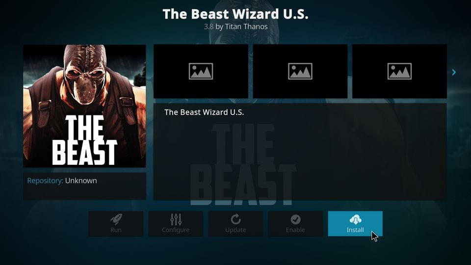 install the beast wizard