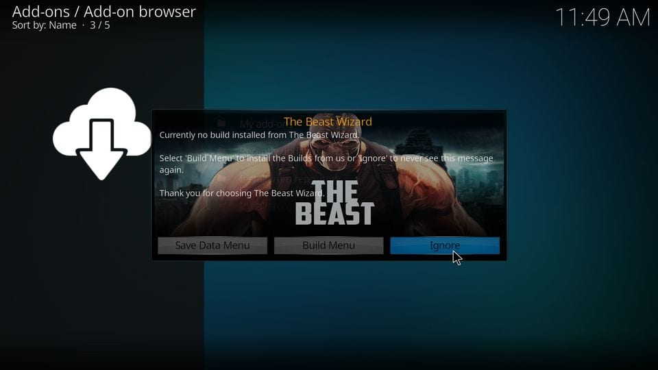 how to install the beast kodi build