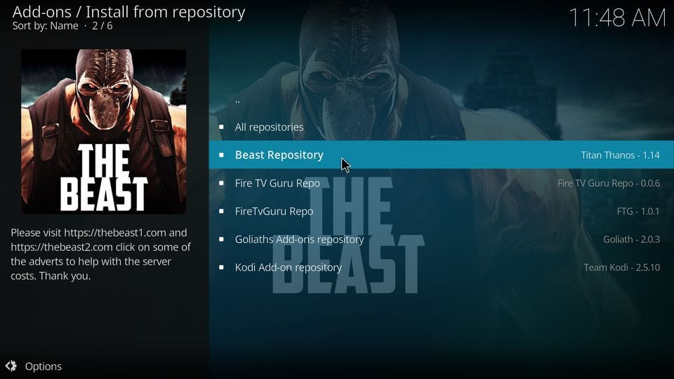 How to Install The Beast Kodi Build in 3 Easy Steps