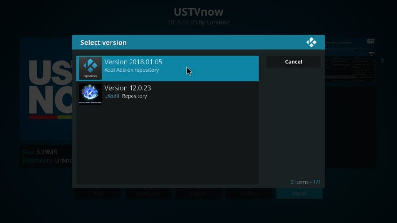 how to get ustvnow on kodi