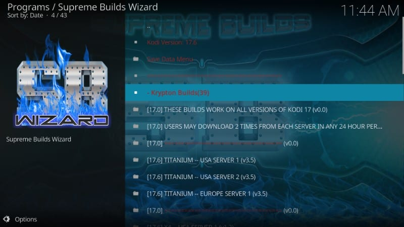 how to use more than one kodi build on fire stick