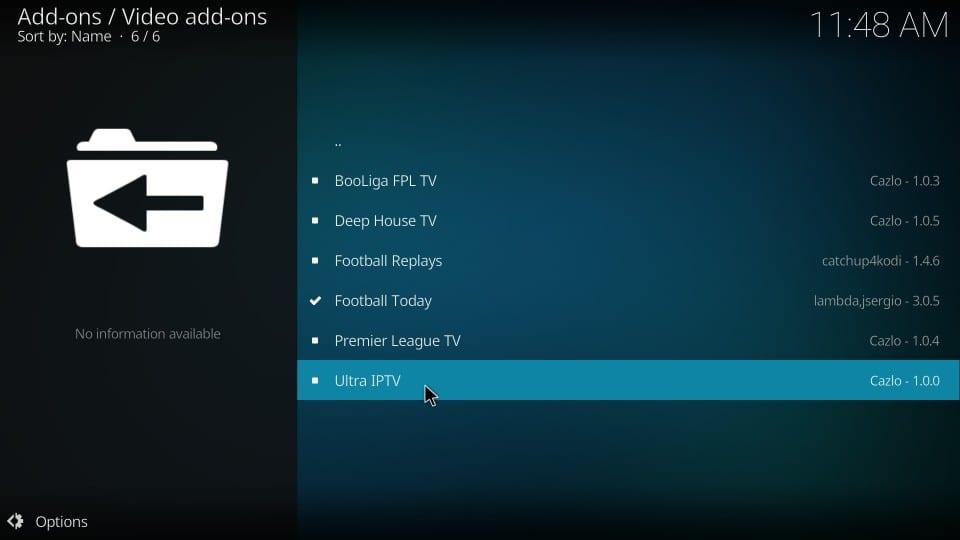 How to Install Ultra IPTV Addon on Kodi 17 6 Krypton - Fire