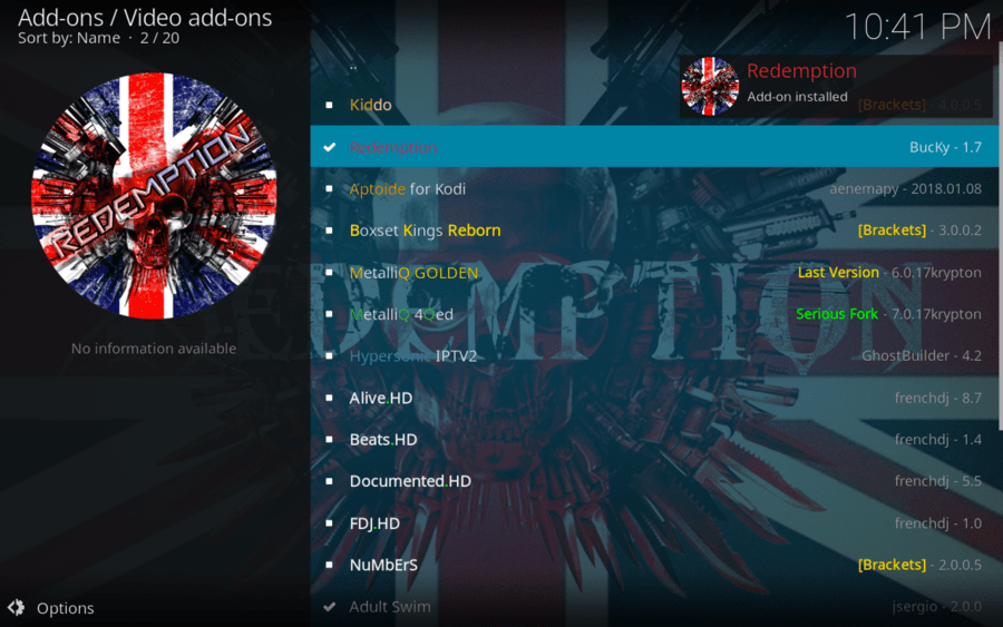 How to Install Redemption Addon on Kodi / FireStick (2019)