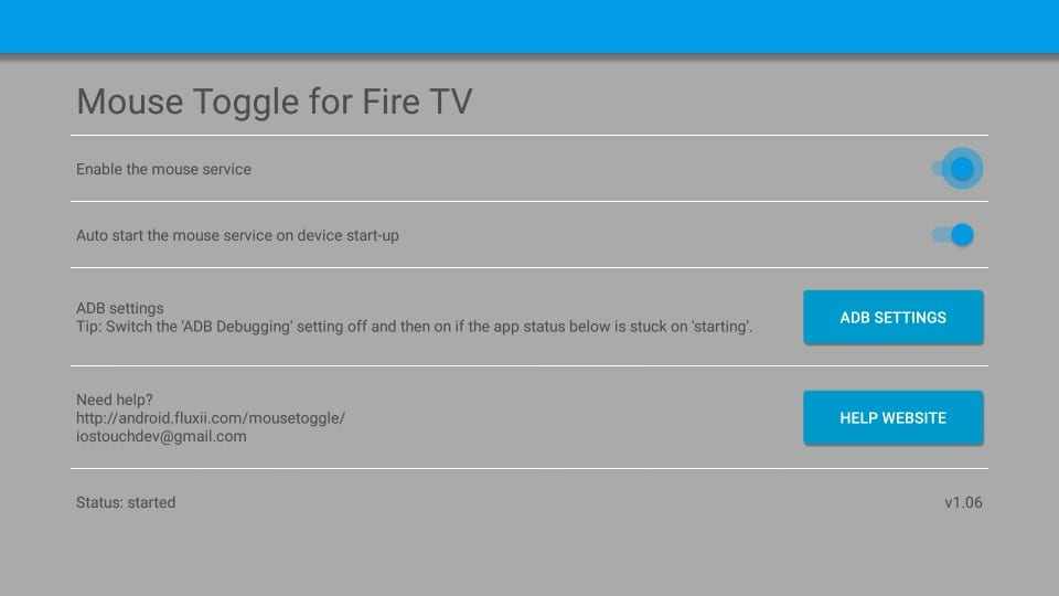 mouse toggle for fire tv stick