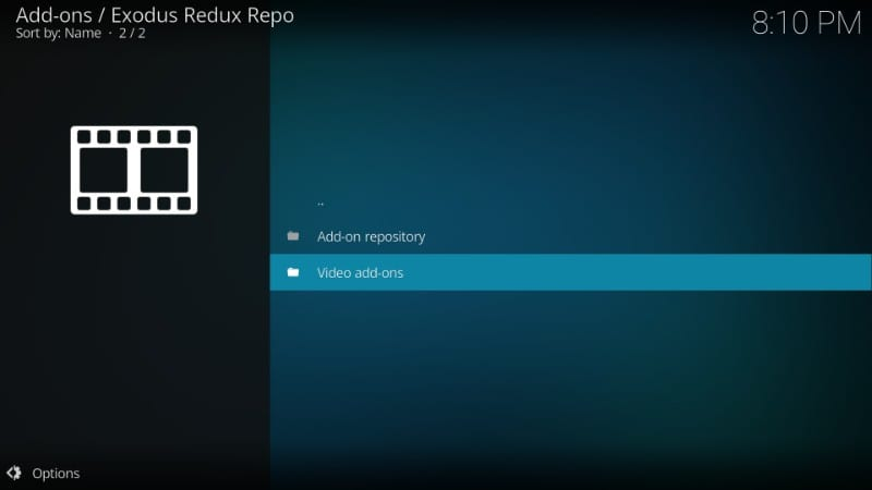 exodus redux video addons