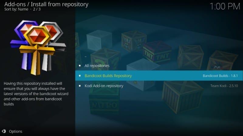 bandicoot builds repository