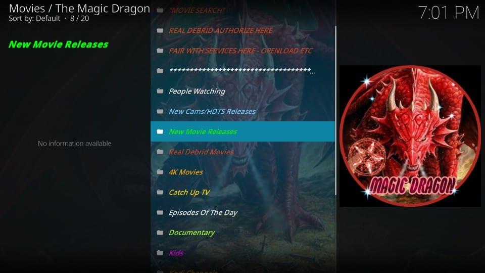 the magic dragon