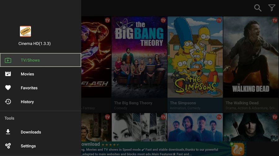 Install Cinema HD APK on FireStick in 1-Minute [Step-by-Step 2019]