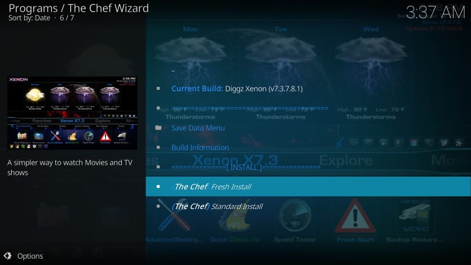 How to Install Diggz Xenon Kodi Build in Easy Steps [2019]