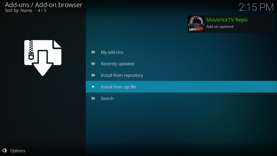 how to add addons on kodi