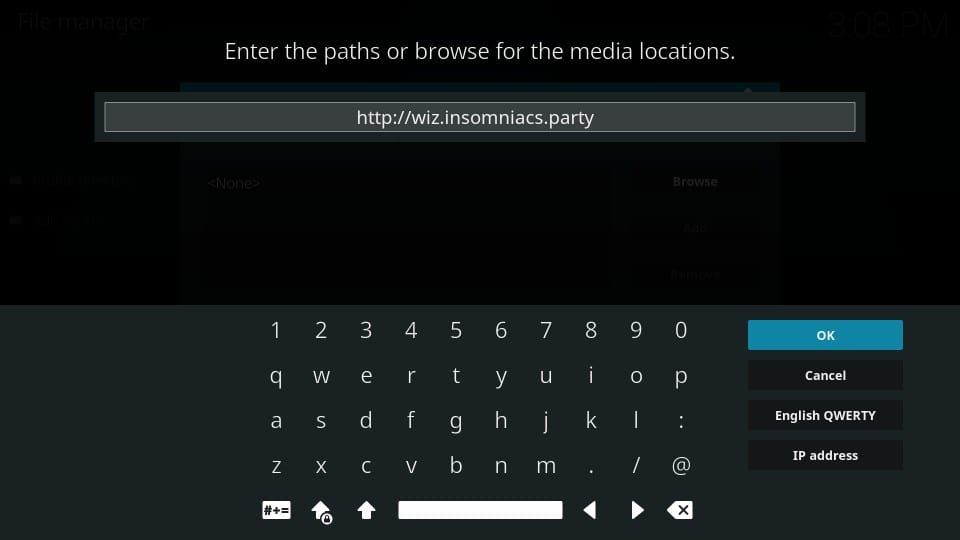 how to get insomniacs builds on kodi