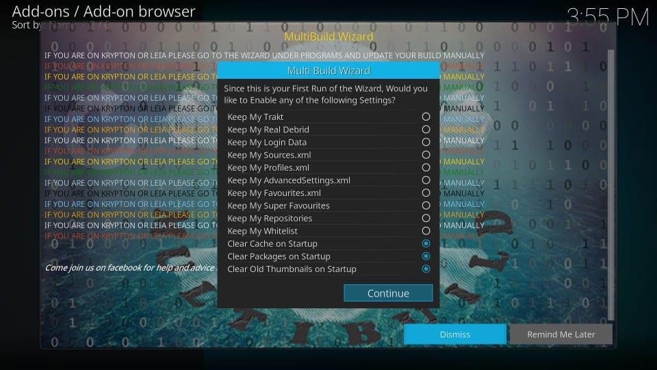 silvo kodi build menu