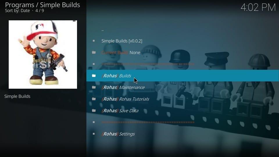 kodi nova build