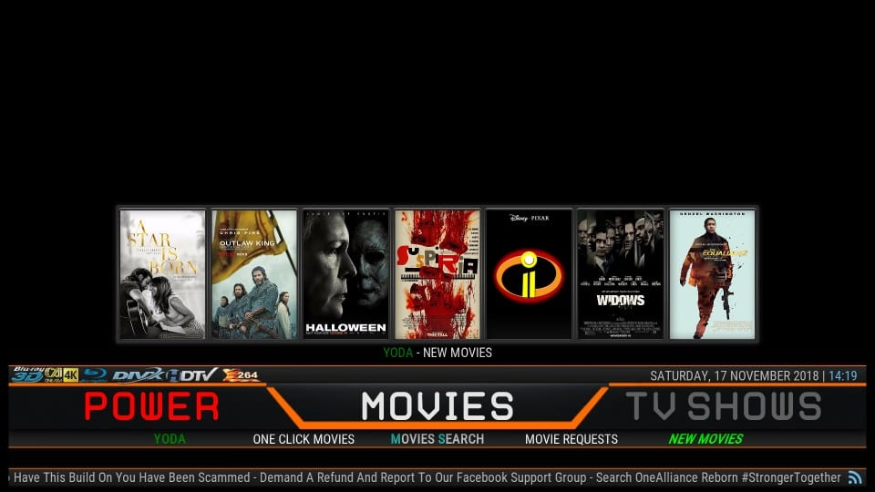 How to Install One Alliance Reborn Kodi Builds - Fire Stick