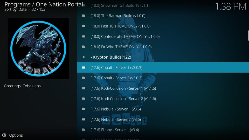 one nation portal kodi builds