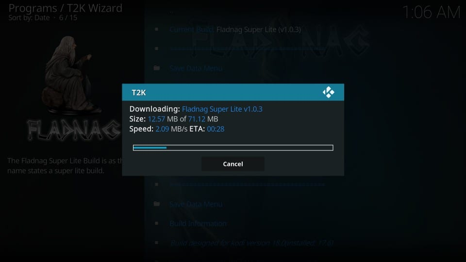 download Two Kingdoms kodi build