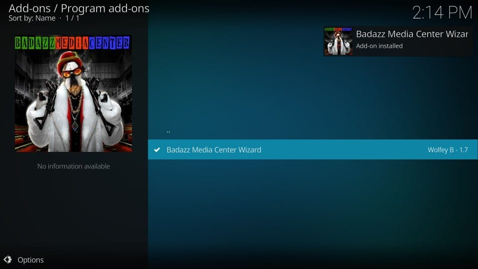 how to use kodi bmc builds