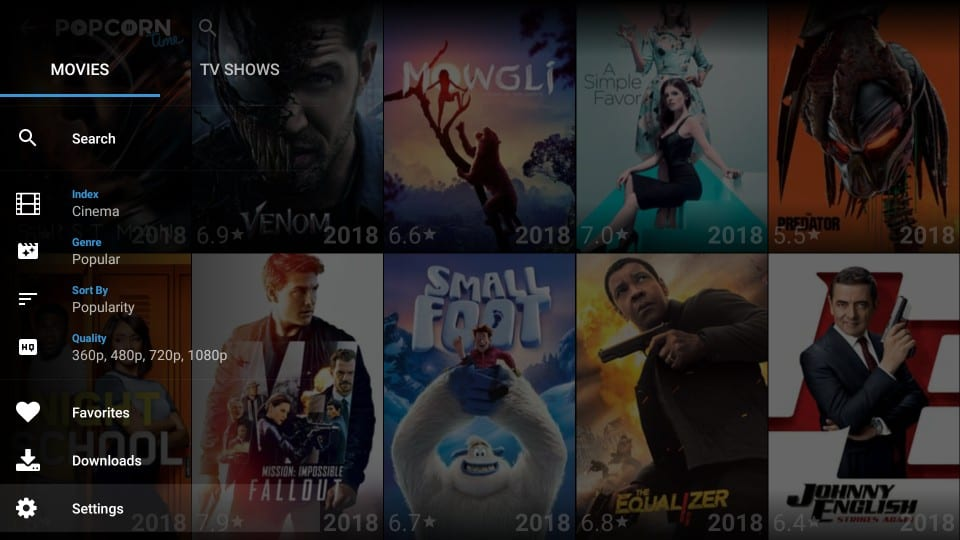 popcorn time android box 2018