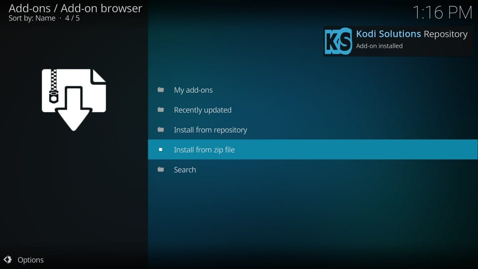 kodi solutions repository