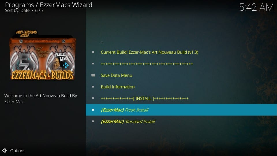 install ezzermac build on kodi
