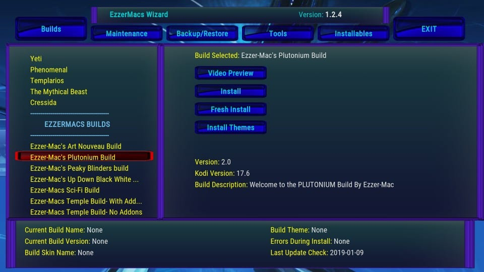 how to add plutonium build on kodi