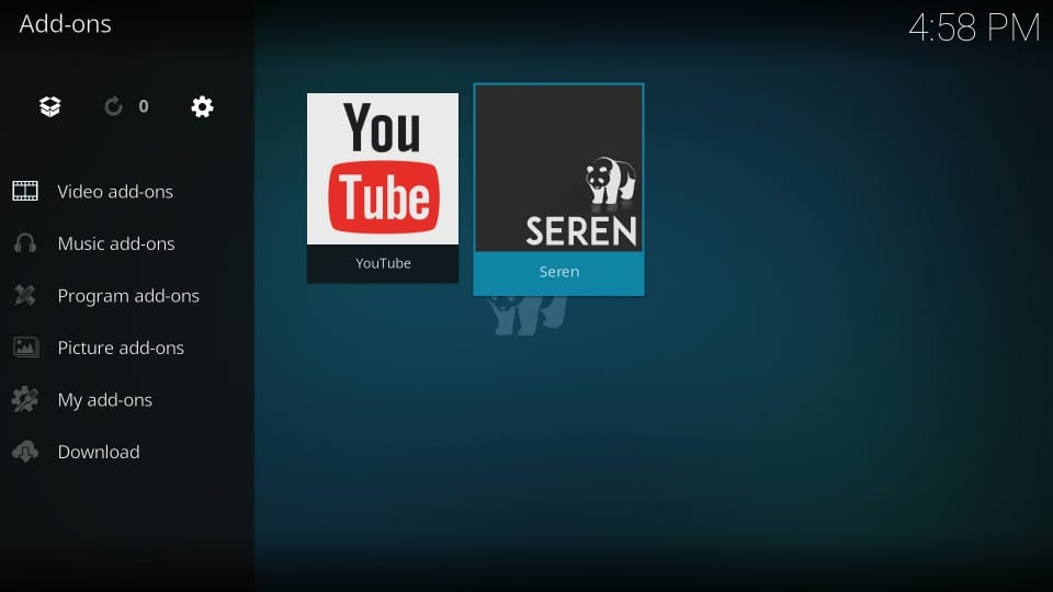 how to use kodi seren addon with real debrid