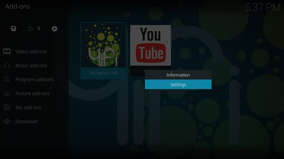 How to Install Yify Movies HD Kodi Addon (Step-by-Step Guide