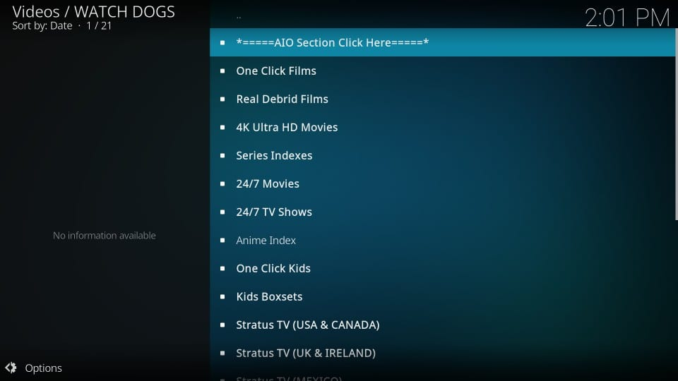 watchdogs kodi addon