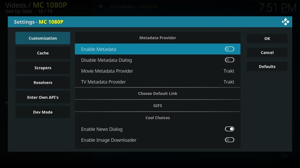 mc 1080p kodi addon metadata processing