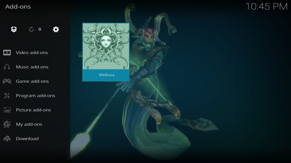 how to get medusa addon on kodi